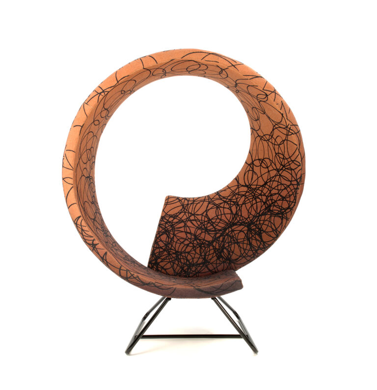 twist chair for reading and resting